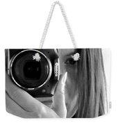 Soul-searching - Self-portrait Weekender Tote Bag