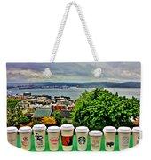 Sound Coffees Weekender Tote Bag by Benjamin Yeager