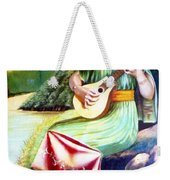 Sound Of River Weekender Tote Bag