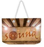 Sound Weekender Tote Bag