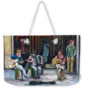 Sounds Of Paris Weekender Tote Bag