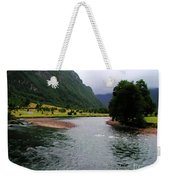 South America - Chile River Weekender Tote Bag