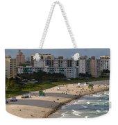 South Beach Afternoon Weekender Tote Bag