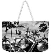 South Beach Cruiser Weekender Tote Bag