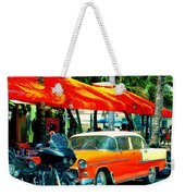South Beach Flavour Weekender Tote Bag by Karen Wiles