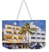 South Beach Miami Art Deco Buildings Weekender Tote Bag