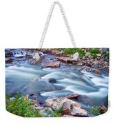 South Boulder Creek Little Waterfalls Rollinsville Weekender Tote Bag