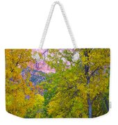 South Campground In Zion Np-ut Weekender Tote Bag