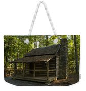South Carolina Log Cabin Weekender Tote Bag