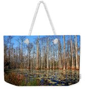 South Carolina Swamps Weekender Tote Bag