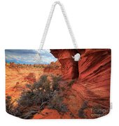 South Coyote Buttes Grand View Weekender Tote Bag by Inge Johnsson