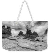 South Coyote Buttes Monochrome 1 Weekender Tote Bag