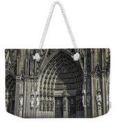 South Entrance Cologne Cathedral Weekender Tote Bag