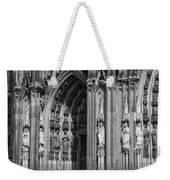 South Entrance Detail Cologne Cathedral Weekender Tote Bag
