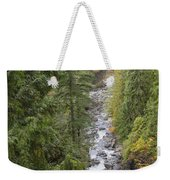 south fork Snoqualmie river Weekender Tote Bag