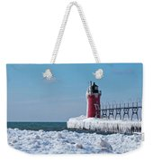 South Haven Ice Weekender Tote Bag