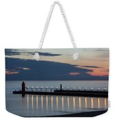 South Haven Michigan Lighthouse Weekender Tote Bag