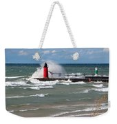 South Haven Splash Weekender Tote Bag