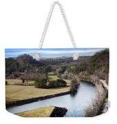 South Holston Dam View Weekender Tote Bag