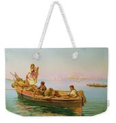 South Italian Fishing Scene Weekender Tote Bag