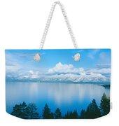 South Lake Tahoe In Winter, California Weekender Tote Bag