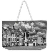 South Lookout Tower Aldeburgh Black And White Weekender Tote Bag