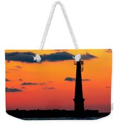 South Pier Light At Night Weekender Tote Bag