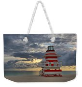 South Pointe Park Lighthouse Weekender Tote Bag