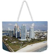 South Pointe Park Miami Beach Florida Weekender Tote Bag