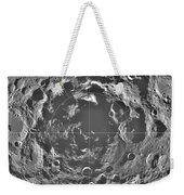 South Pole Of Moon  Weekender Tote Bag