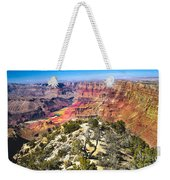 South Rim From The Butte Weekender Tote Bag by Robert Bales