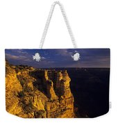 South Rim Grand Canyon Taken Near Mather Point Sunrise Light On  Weekender Tote Bag