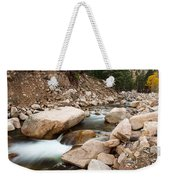 South St Vrain Canyon Autumn View Weekender Tote Bag