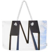 South Street Stick Men Statue Weekender Tote Bag