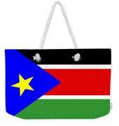 South Sudan Flag Weekender Tote Bag