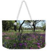 South Texas Meadow Weekender Tote Bag