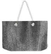 South Tower Rain In Black And White Weekender Tote Bag