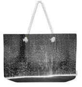 South Tower Water In Black And White Weekender Tote Bag