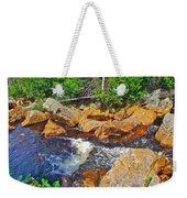 Southeast Brook Above Falls In Gros Morne Np-nl Weekender Tote Bag