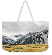 Southern Alps Nz Weekender Tote Bag