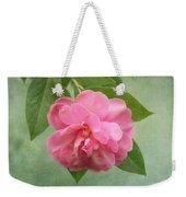 Southern Camellia Flower Weekender Tote Bag