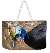 Southern Cassowary Portrait Weekender Tote Bag