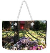 Southern Church In Bloom Weekender Tote Bag