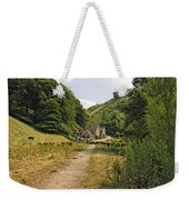 Southern End Of Wolfscote Dale Weekender Tote Bag