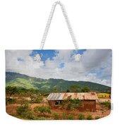 Southern Kenya Poverty Landscape Weekender Tote Bag