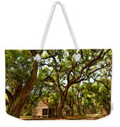 Southern Lane Paint Filter Weekender Tote Bag by Steve Harrington