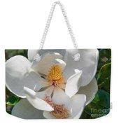 Southern Magnolia Blossom Weekender Tote Bag