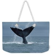 Southern Right Whale Fluke Argentina Weekender Tote Bag