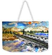 Southern River Dam Weekender Tote Bag