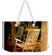 Southern Sunday Afternoon Weekender Tote Bag by Susanne Van Hulst